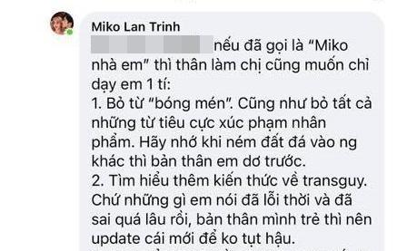 Tình chuyển giới của Miko Lan Trinh bị xỉa xói hại đời gái thẳng-2