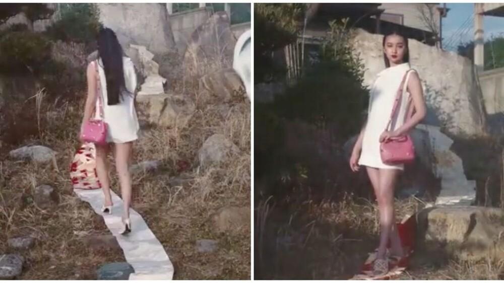Nàng thơ Chanel Nhật Bản bị chỉ trích dữ dội khi dẫm chân lên áo Kimono-1