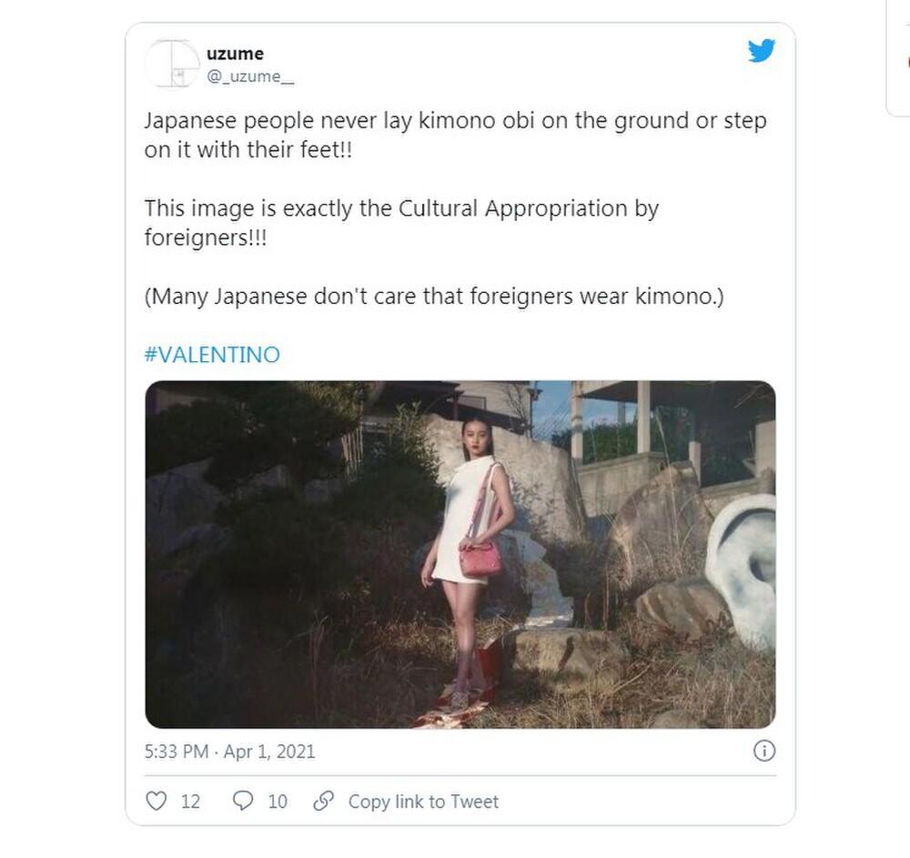 Nàng thơ Chanel Nhật Bản bị chỉ trích dữ dội khi dẫm chân lên áo Kimono-5