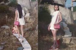 'Nàng thơ Chanel' Nhật Bản bị chỉ trích dữ dội khi dẫm chân lên áo Kimono