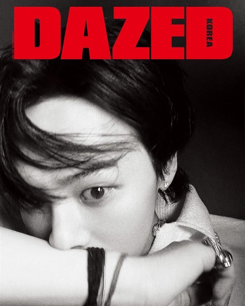 GD ngầu bá cháy trên bìa tạp chí, netizens lập tức truy tìm Jennie-4