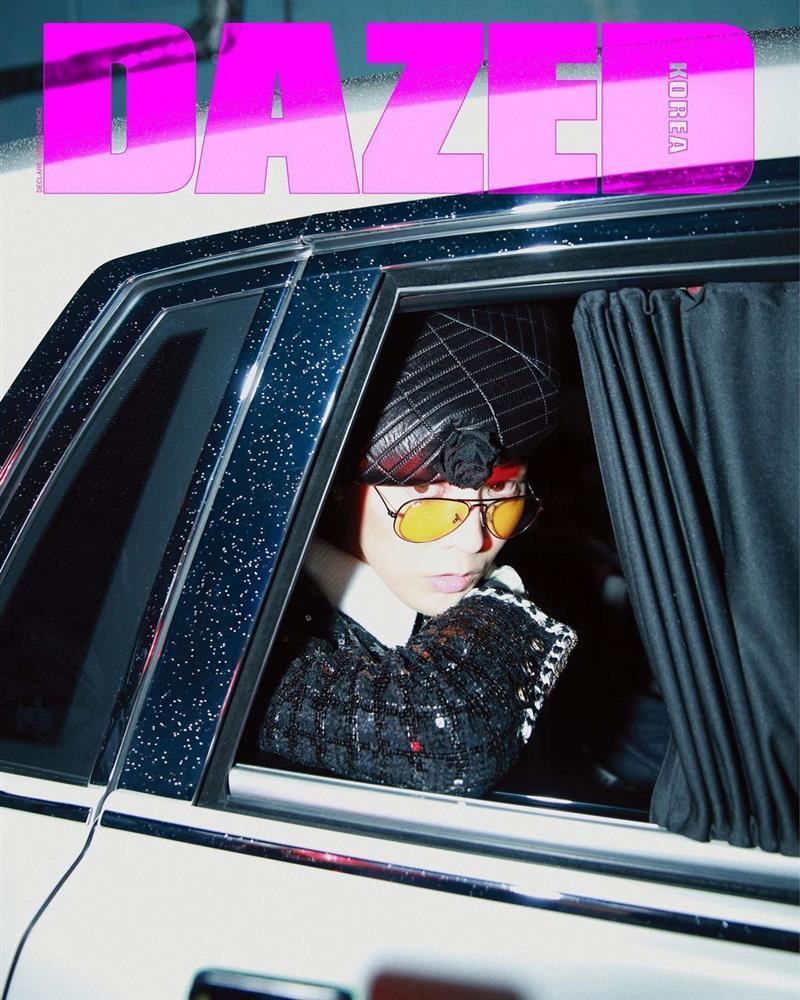 GD ngầu bá cháy trên bìa tạp chí, netizens lập tức truy tìm Jennie-8