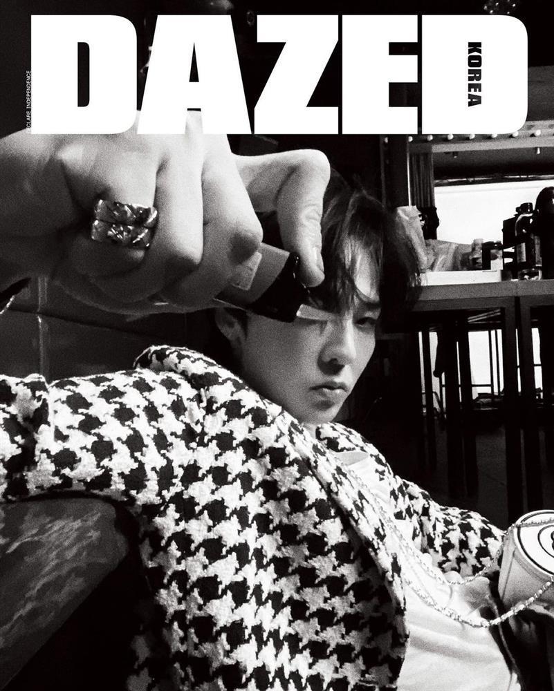 GD ngầu bá cháy trên bìa tạp chí, netizens lập tức truy tìm Jennie-10
