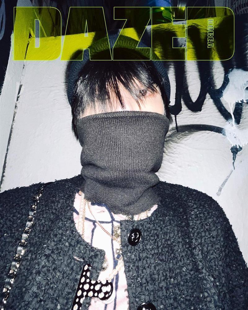 GD ngầu bá cháy trên bìa tạp chí, netizens lập tức truy tìm Jennie-16