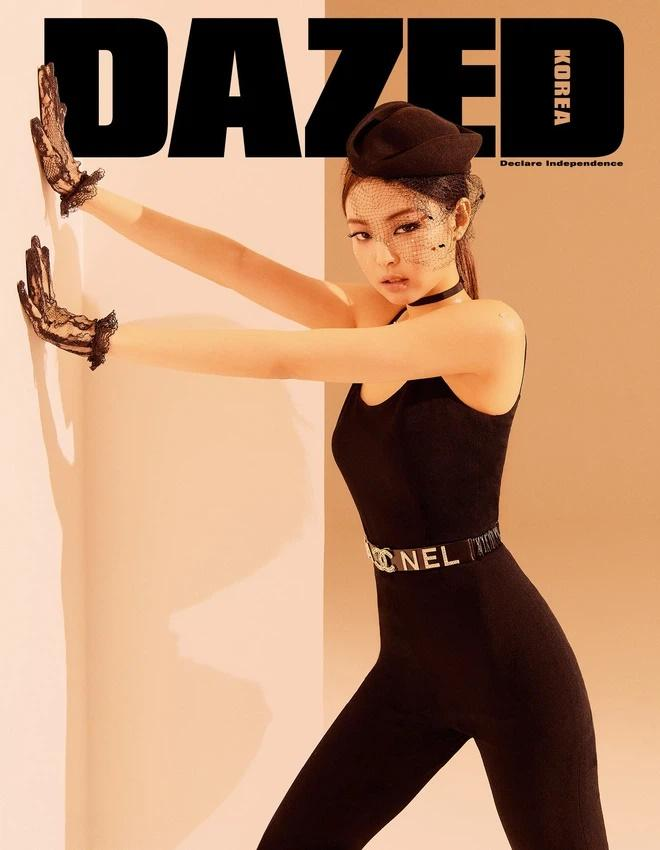 GD ngầu bá cháy trên bìa tạp chí, netizens lập tức truy tìm Jennie-17