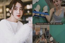 Hot girl 'Người Ấy Là Ai' bị tổn thương dây thần kinh do làm việc quá sức