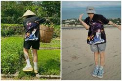 Binz mặc 'đồ đôi' giống hệt Decao: Châu Bùi đang ở đâu?