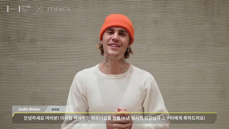 Fan chấn động não khi Justin Bieber gửi lời chào HYPE: BigHit điên rồi-5