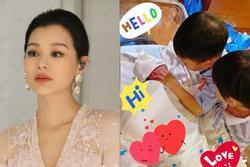 Hồ Hạnh Nhi sinh con trai thứ 3 ở tuổi 41