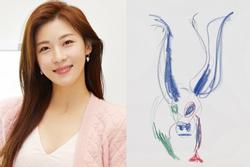 Ha Ji Won bị chê vẽ xấu nhưng vẫn bán tranh