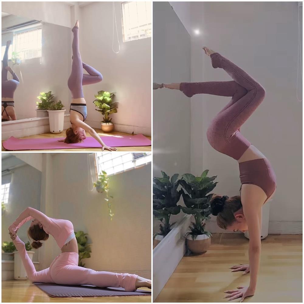 Bảo Anh - Chi Pu - Hà Hồ tập yoga mọi lúc mọi nơi để giữ body đẹp như tạc-13