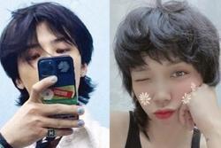 Tóc Tiên cắt tóc giống G-Dragon