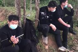 'Tiểu đội' người Trung Quốc nhập cảnh trái phép đến Quảng Trị