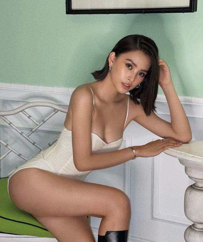 Hoa hậu Tiểu Vy đố ai khuyên được em ngừng sexy?-5