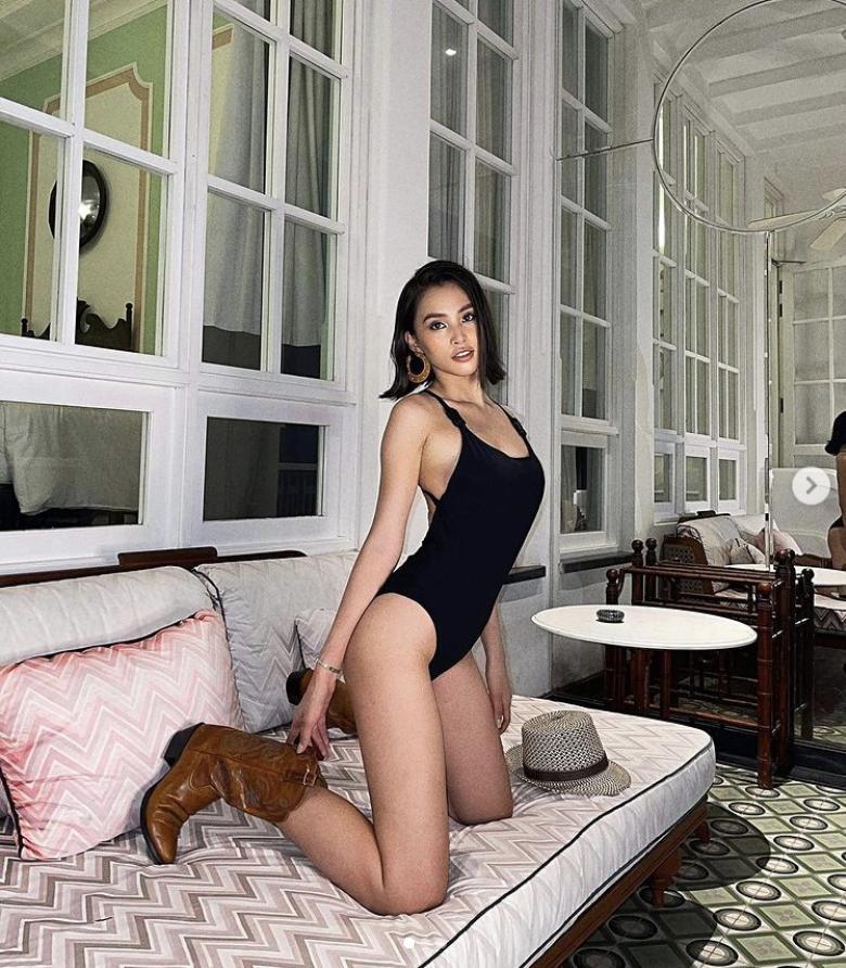 Hoa hậu Tiểu Vy đố ai khuyên được em ngừng sexy?-1