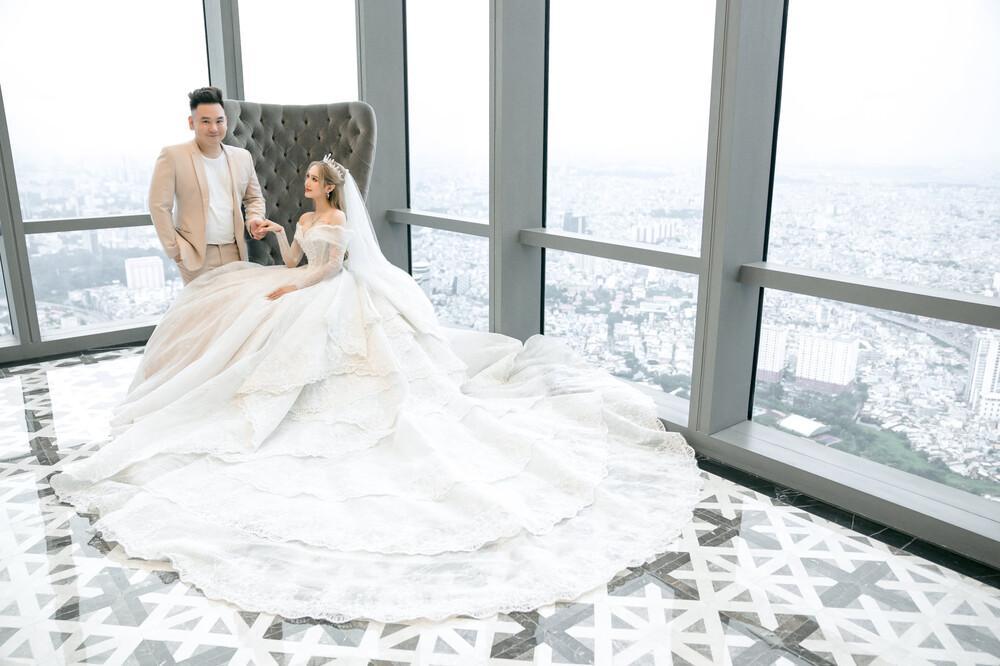 Khám phá nơi ở của cô dâu diện váy 28 tỷ và chồng đại gia-3