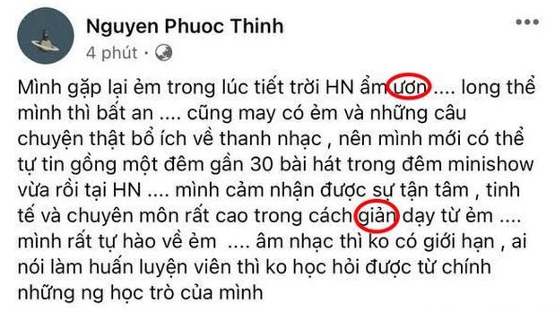 Sao Việt sai chính tả: hoàng tử Vpop và nữ hoàng giải trí đủ cả-2