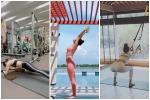 Bảo Anh - Chi Pu - Hà Hồ tập yoga mọi lúc mọi nơi để giữ body đẹp như 'tạc'