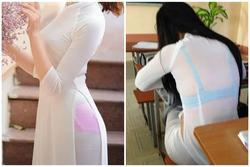 Những lần nữ sinh Việt gây sốc vì cách diện áo dài phản cảm