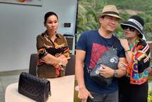 Vợ Kinh Quốc chê chồng 'nhà quê' nhưng chính mình mặc hàng hiệu khác nào hàng chợ
