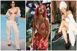 Quỳnh Anh Shyn - Châu Bùi - Khánh Linh 'đụng độ' bikini hàng hiệu, ai hơn ai?