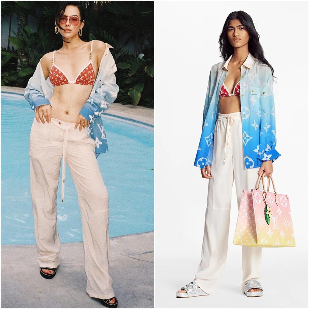 Quỳnh Anh Shyn - Châu Bùi - Khánh Linh đụng độ bikini hàng hiệu, ai hơn ai?-5