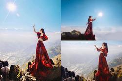 Cô gái bỗng hóa 'nữ thần' giữa núi rừng Sapa trong tiết trời 10 độ C