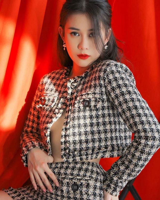 Hot girl Ngọc Thảo gây sốc khi lộ ảnh già như bà cô 40 tuổi-3