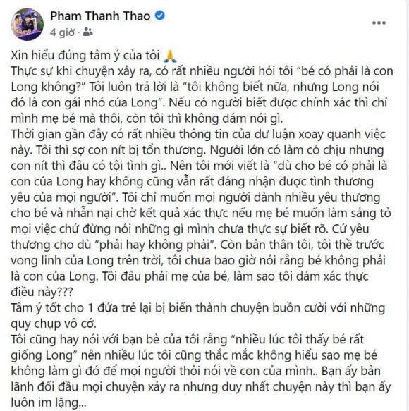 Bị vợ Vân Quang Long chửi đổng, Phạm Thanh Thảo nói gì?-3