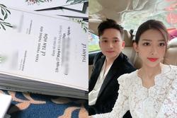 Lộ diện thiệp cưới của Phan Mạnh Quỳnh sau khi chơi trò Cá tháng 4