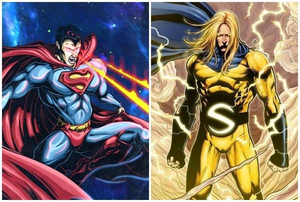 Siêu anh hùng Marvel và DC giống nhau lú cái đầu, bên nào dùng hàng nhái?-1