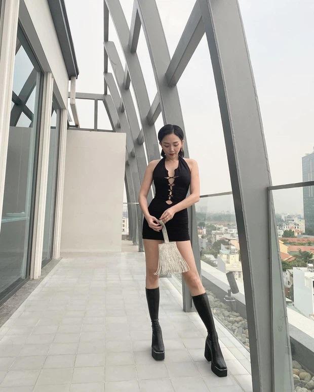 Hoàng Touliver lên trình chụp ảnh cho Tóc Tiên trông như cao 1m8-4