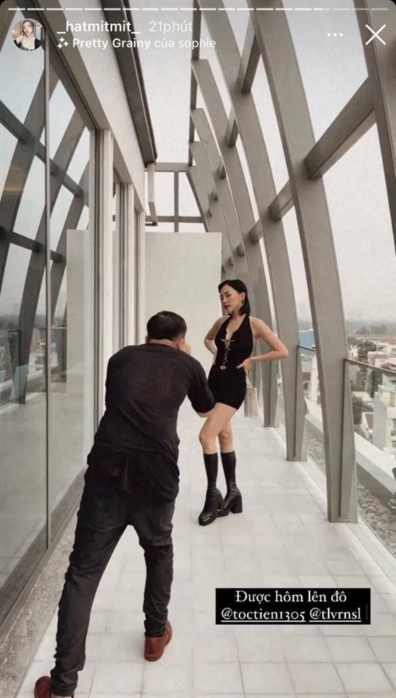 Hoàng Touliver lên trình chụp ảnh cho Tóc Tiên trông như cao 1m8-3