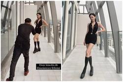 Hoàng Touliver lên trình chụp ảnh cho Tóc Tiên trông như cao 1m8
