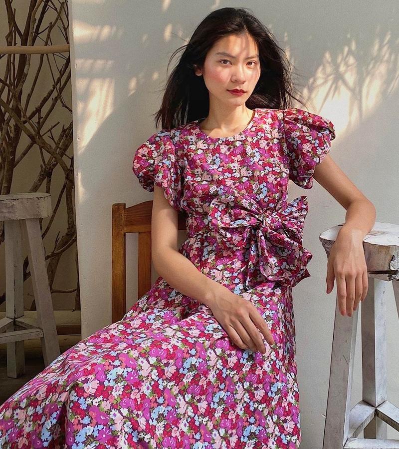 Thiều Bảo Trâm - Minh Hằng lăng-xê váy hoa nhí chào hè-4