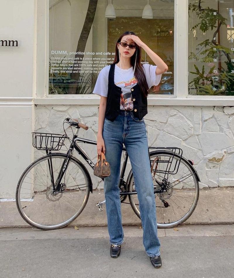 Lăng-xê trang phục họa tiết, Thúy Vi - Quỳnh Anh Shyn hai phong cách đối lập-9