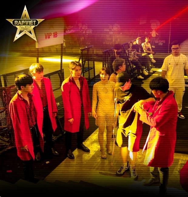 Karik chống nạng xuất hiện tại buổi tổng duyệt, vẫn quẩy tại Rap Việt Concert?-6