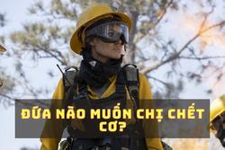 Chán 'Mã Lệ Phi Xuân', Angelina Jolie giờ là nữ cứu hỏa có làn môi gợi cảm