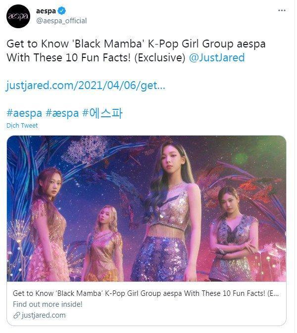 Sau vụ việc BTS và SuperM, SM lại bị chỉ trích vì tự nhận aespa là BLACKPINK thế hệ mới-5