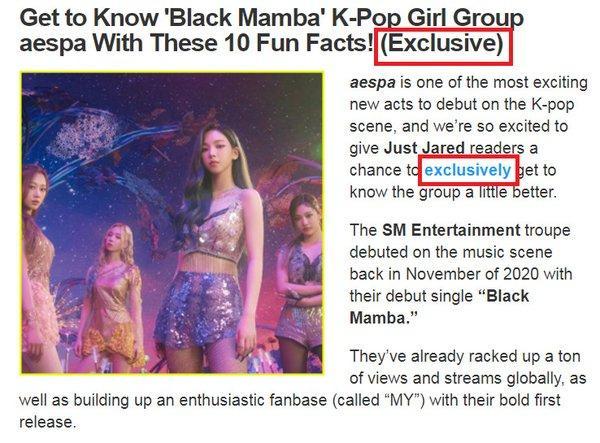 Sau vụ việc BTS và SuperM, SM lại bị chỉ trích vì tự nhận aespa là BLACKPINK thế hệ mới-6