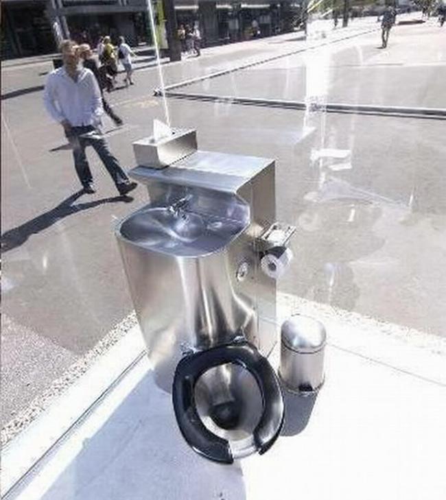 Tuyển tập các kiểu nhà vệ sinh thiết kế chẳng giống ai, đánh đố người sử dụng-2