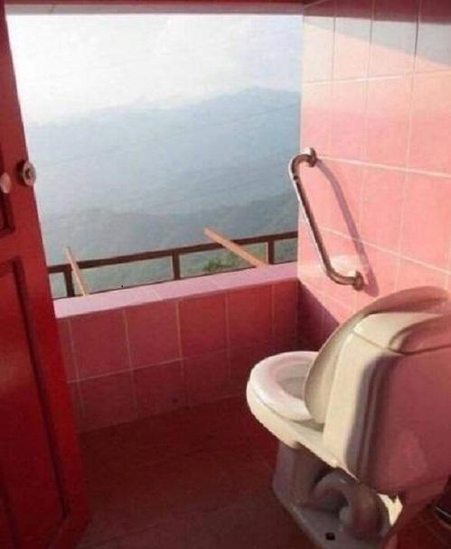 Tuyển tập các kiểu nhà vệ sinh thiết kế chẳng giống ai, đánh đố người sử dụng-5