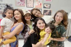 5 mẹ bỉm sữa đình đám showbiz Việt hội ngộ