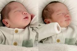 Con gái 1 tháng tuổi của An Nguy đẹp như tranh vẽ