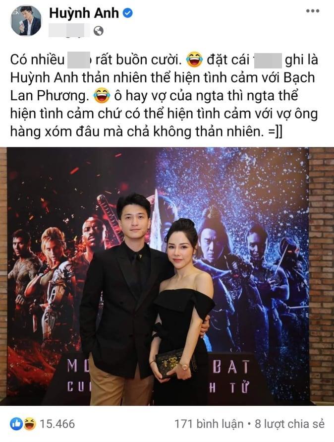 Gọi single mom là vợ, Huỳnh Anh bị vặn: Đã cưới chưa?-1