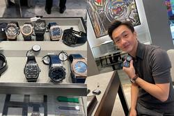Đàm Thu Trang mua cùng lúc 10 chiếc đồng hồ tặng Cường Đô La