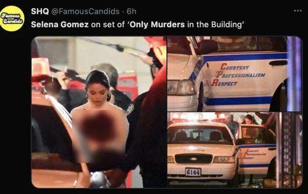 Facebook rầm rộ hình ảnh Selena Gomez bị bắt với trang phục đầy máu-2