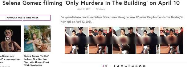 Facebook rầm rộ hình ảnh Selena Gomez bị bắt với trang phục đầy máu-3