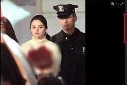 Facebook rầm rộ hình ảnh Selena Gomez bị bắt với trang phục đầy máu