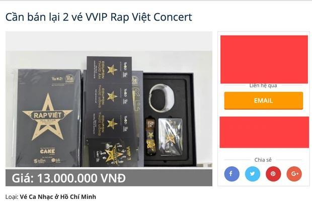 Hé lộ thực đơn VVIP của Rap Việt Concert-1